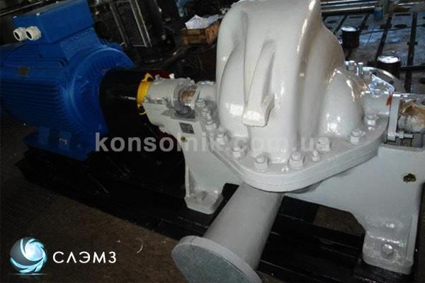 Спиральный центробежный насос ЦН 400-105 фото
