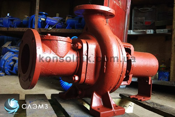 Центробежный чугунный насос для перекачки воды СМ100-65-250/4 фото