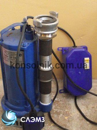 Дренажный насос ВНЗ ГНОМ 160-40 380в погружного типа